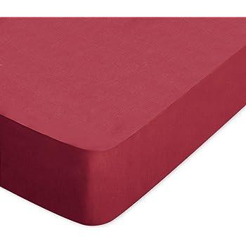 Blanc Des Vosges Uni Jersey Drap Housse Extensible Coton Anthracite 70x190 Cm A 80x200 Cm Amazon Fr Cuisine Maison
