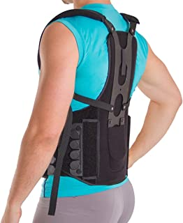 Postural Extension Back Straightener Brace for Kyphosis, Mild Scoliosis, Hunchback and Lordosis Treatment - S/M