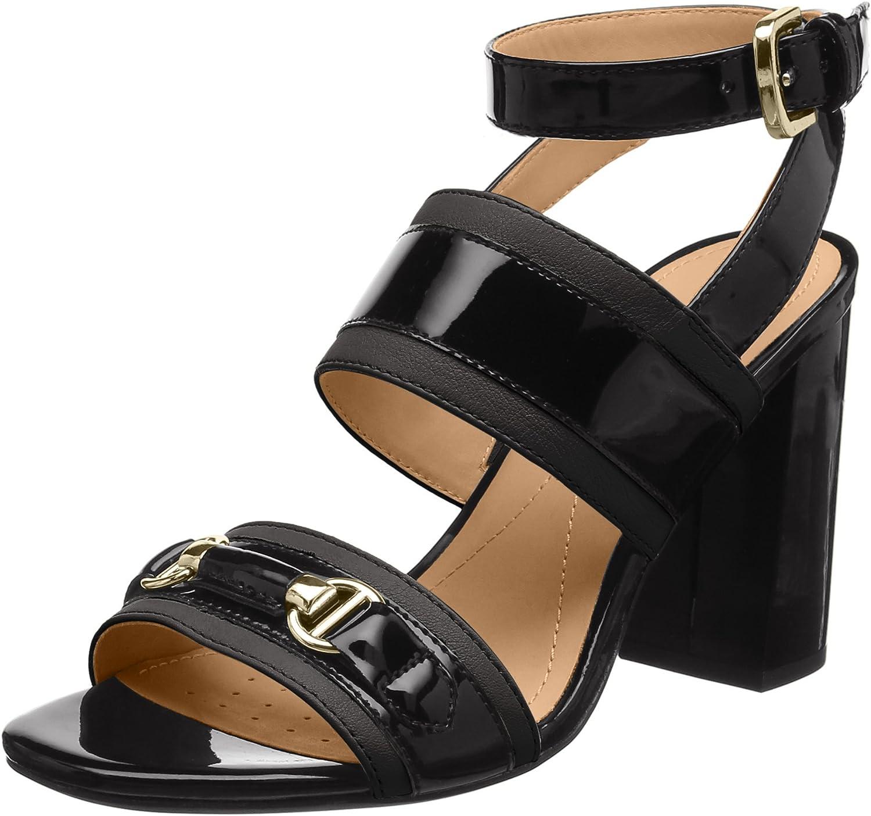 Geox Damen Damen D Audalies High Sandalo C Riemchensandalen  Online-Verkauf