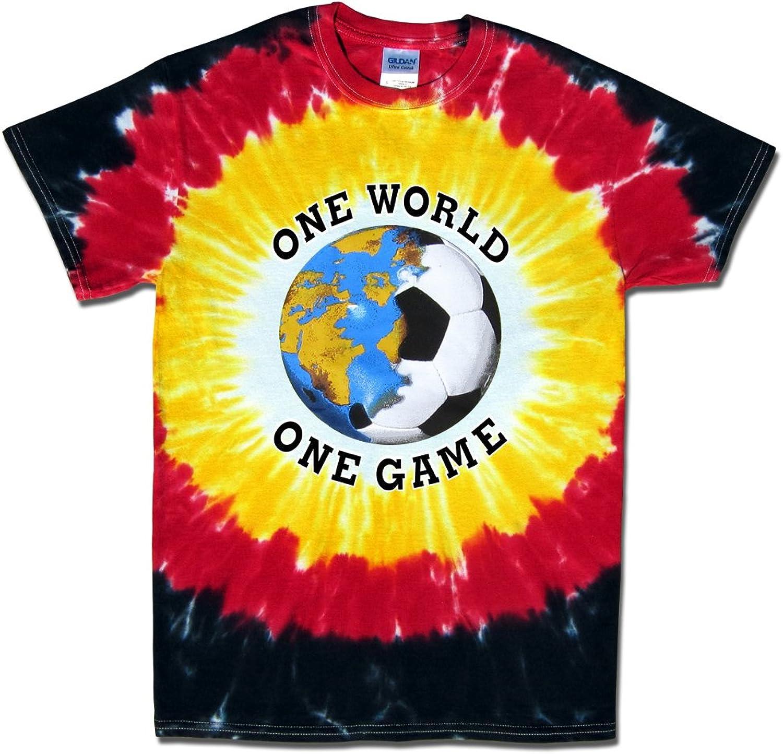 Germany Soccer One World Tie Dye TShirt Jersey