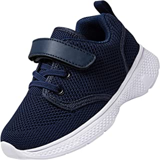 أحذية Nishiguang للأطفال الصغار/المشي خفيفة الوزن قابلة للتنفس رياضية للأولاد والبنات