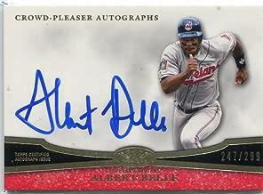 2013 Topps Tier One Crowd Pleaser Autographs #AB2 Albert Belle Auto 247/299 - NM