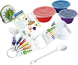 Curious Chef Children's 17-Piece Measure & Prep Kit