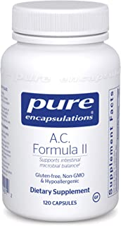 Pure Encapsulations - A.C. Formula II - Hypoallergenic Dietary Supplement to Promote Healthy Balance - 120 Capsules