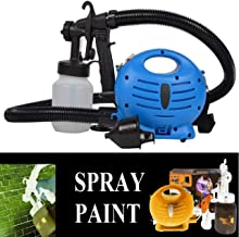 RONTENO Plastic Paint Zoom Electric Spray Gun Portable, Multiple Use, Very Fast Work Tools - 1pc (Blue Color)