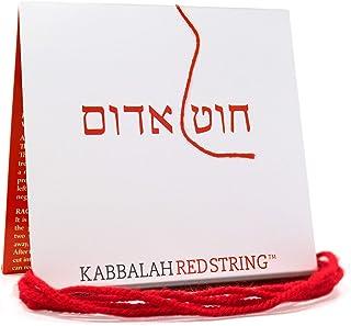 La stringa di Kabbalah ORIGINALE da Israele Pacchetto di Bracciale di Kabbalah ROSSO STRING - Corda rossa da 150 CM per un...