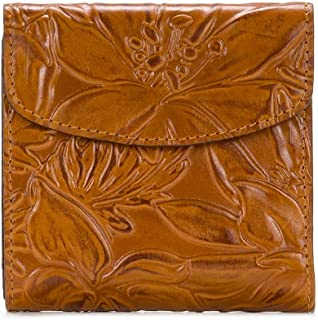 Patricia Nash Women's Burnished Tooled Leather Wallet