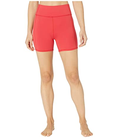 FP Movement Hang Time Shorts (Red) Women