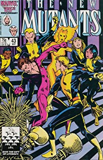 New Mutants, The #43 FN ; Marvel comic book