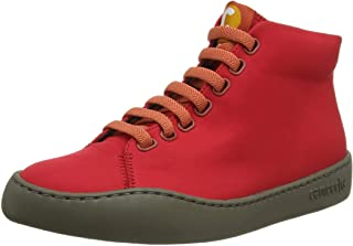 Camper Women's Peu Touring Ankle Boot, Bright red