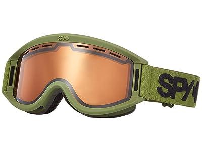Spy Optic Getaway (Matte Olive Persimmon) Goggles