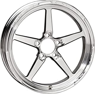 Weld Racing 88-1704274 Weld Pro Drag Alumastar 2.0; 1 Piece; Size 17x4.5; Bolt Pattern 5x4.75; -12.7 Offset; Back Spacing 2.25 in.; Polished; Bore Diameter 2.87in./72.898mm.; Center Cap Included;