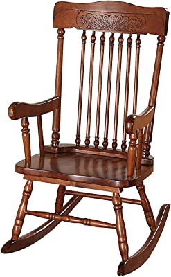 Fine Amazon Com International Concepts Adirondack Rocker Interior Design Ideas Inamawefileorg