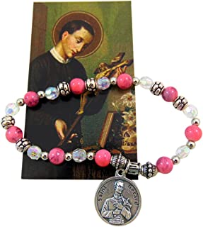 Westman Works St Gerard Stretch Bangle Bracelet with Holy Card Expectant Mothers Set