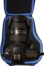 Alltravel DSLR Camera case compatible with Canon EOS 7D 6D 5D Mark II III IV 5DS R EF 24-105mm f/4 F4 L IS USM EF 24-70mm f/2.8L II USM DSLR Lens Kit, featured strong handle and shoulder strap