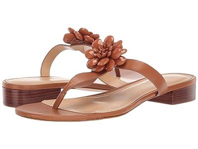 MICHAEL Michael Kors Dalia Flat Sandal (Acorn) Women
