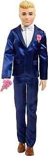 Barbie Fairytale Ken Groom Doll (Blonde 12-inch) Wearing Suit, for 3 to 7 Year Olds GTF36