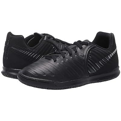 Nike Kids LegendX 7 Club IC Soccer (Toddler/Little Kid/Big Kid) (Black/Black/Light Crimson) Kids Shoes