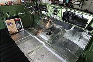 product image for HushMat 664012 Sound and Thermal Insulation Kit (1987-2011 Dodge Dakota Regular Cab Firewall)