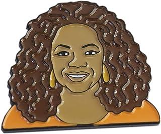 WizardPins Famous American Talk Show Host & Philanthropist Inspired by Oprah Enamel Lapel Pin