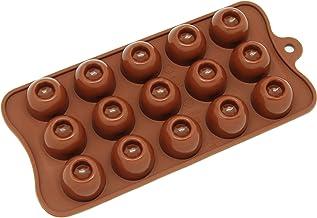 قالب كيك دائري CB-611BR 15-Cavity سيليكون بلون الشوكولاتة والحلوى وغامي من فريش وير