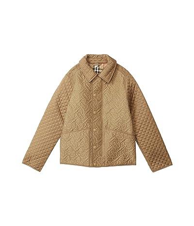 Burberry Kids Giaden Jacket (Little Kids/Big Kids) (Honey) Girl