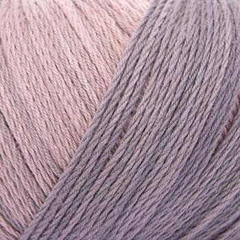 ggh Calypso - 002 - Palosanto-Gris - Algodón con gradiente de color para tejer y hacer ganchillo: Amazon.es: Hogar