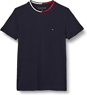 Tommy Hilfiger TH Cool Flag Collar tee Camisa para Hombre
