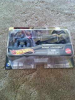 Hot Wheels Batman vs Superman Batmobile Car and Figure