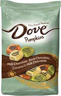 Dove Promises Variety Mix Harvest Halloween Chocolate Candy Pumpkins 24 Oz Bag