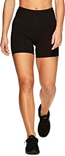 RBX Active Women's Cotton Spandex High Waist Running Bike Short