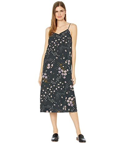 Madewell Printed Slip Dress (Printmix Floral Almost) Women