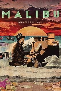Close Up Anderson .Paak Poster Malibu (61cm x 91,5cm) + a Bora Bora Poster!