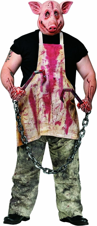 BUTCHER PIG COSTUME - ONE Größe FITS MOST - FANCY DRESS COSTUME