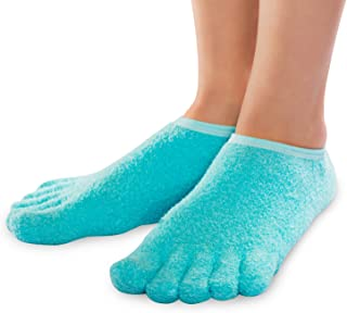 NatraCure 5-Toe Moisturising Gel Socks for Cracked Heels and