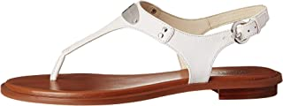 Zapatos de Mujer Sandalo Infradito MK Plate Thong Rose Gold Michael Kors SS2020
