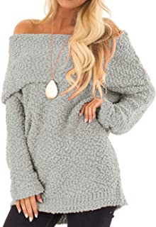Best off the shoulder fuzzy top Reviews