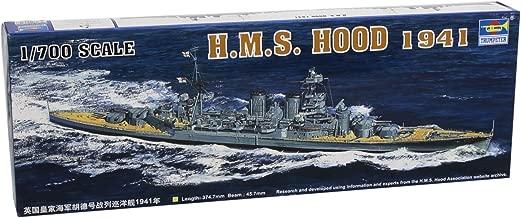 Trumpeter 1/700 HMS Hood British Battleship 1941 Model Kit