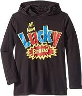 Fortune Long Sleeve Hoodie T-Shirt (Big Kids)