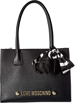Tote with Love Moschino Scarf