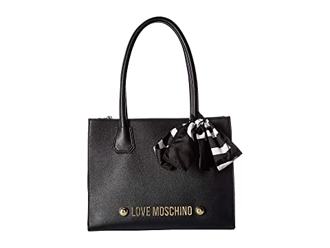 LOVE Moschino Tote with Love Moschino Scarf