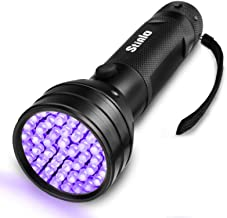 UV Flashlight Black light super 51 LED Handheld Pet Dog Cat Urine Carpet stain detector 395nm Scorpion Hunting,Ultraviolet...