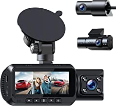 $139 » Sponsored Ad - TOGUARD 3 Channel 4K Dash Cam for Cars w/GPS 1440P+1080P+1080P Front Inside/Cabin and Rear Triple Car Camer...