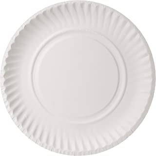 Hotpack Disposable Plates - 100 Pieces