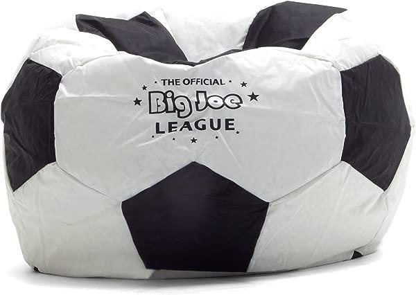 Big Joe Soccer Bean Bag With Smart Max Fabric
