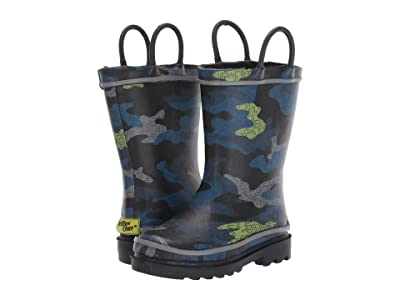 Western Chief Kids Code Camo Rain Boot (Toddler/Little Kid) (Black) Boys Shoes