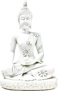 Bellaa 20508 Buddha Statue Earth Touching Mudra Sakyamuni 4 inch