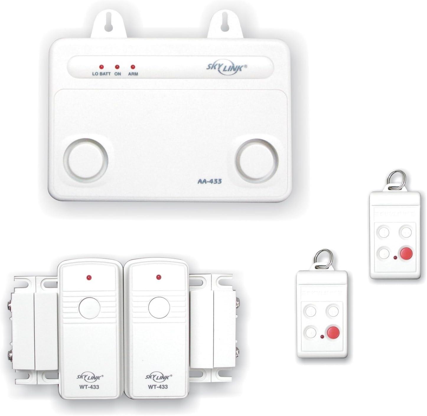 Very popular Skylink Nashville-Davidson Mall SC-10W Wireless Home Office Burglar Alarm Alert System