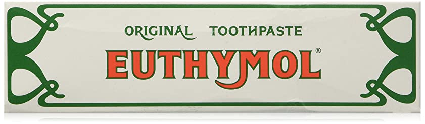 虎配管伴うEuthymol Toothpaste - by Euthymol 75ml x 3 ユーシモル オリジナル ハミガキ 75ml x 3個