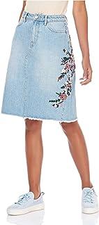 MISS SIXTY A Line Skirt For Women - Blue XL